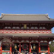 浅草寺のもう一つの門