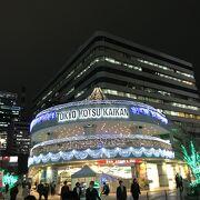 夜景が素敵な建物