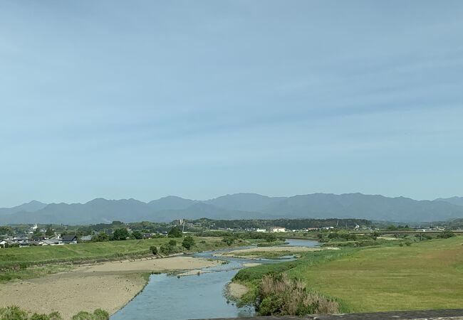 宮崎で初めて渡った川