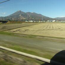 磐梯山がこのように見えます。
