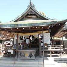 針綱神社本殿