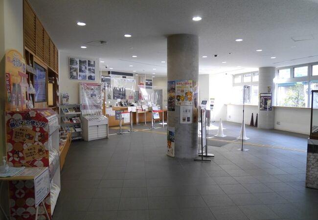 松山城へらくらく移動。