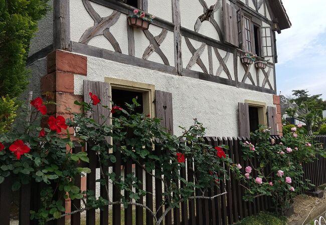 フランス・アルザス地方の家