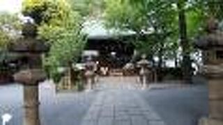7つの祭神を祀る神社
