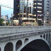 目黒川に架かる橋のひとつ