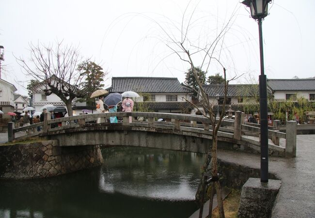 倉敷館前の石橋