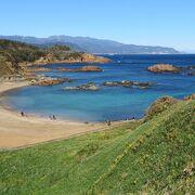 晴れていれば青い海に伊豆七島の景色も楽しめます