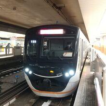 大岡山駅での東急大井町線
