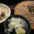 JR姫路駅改札出てすぐの蕎麦屋さん!!