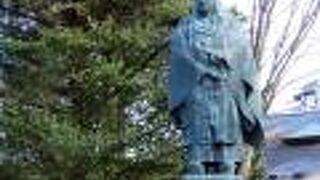 天海大僧正の像