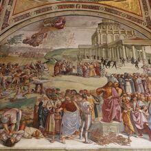 『反キリストの宣教』のフレスコ画