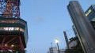 豊平川水位表示塔