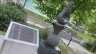 札幌建設の地碑