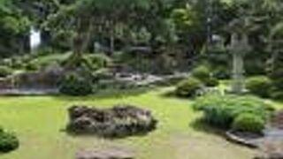大石武学流の庭園