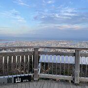 徳島市内を一望