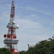 湘南平のTV塔