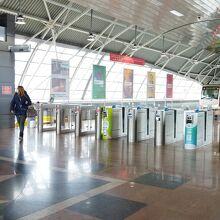地下鉄ソフィア空港駅