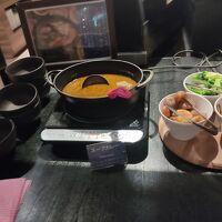 朝食バイキング スープカレー