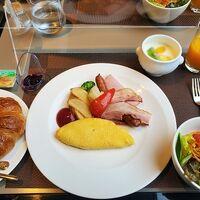 洋食の朝食です。