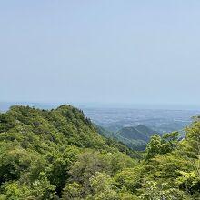 仏果山の展望台