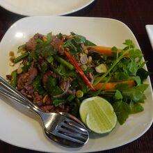 Beef Lok Lak これが美味しかった