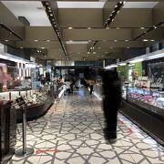 東京駅直結の便利の良いお店