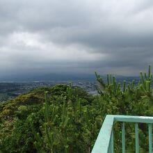 湘南台展望台からの眺望