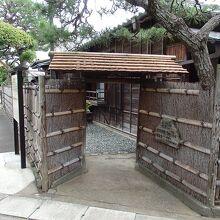 旧島崎藤村邸入口