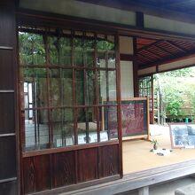 旧島崎藤村邸和室