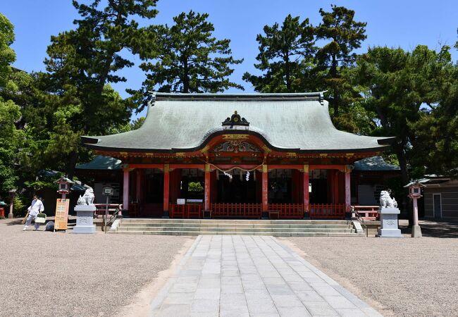 由緒ある神戸の長田神社
