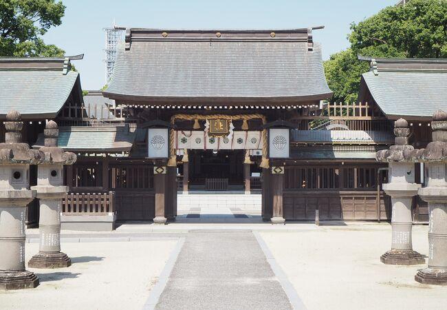 松原神社(日峯さん)