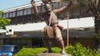 面浮立の像