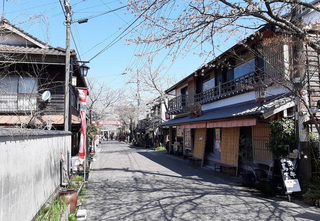 阿蘇神社の門前町商店街