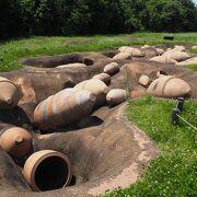 陶器製の墓