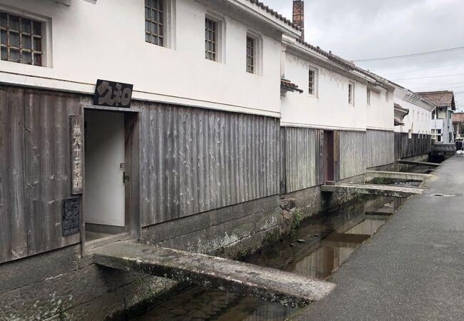 倉吉という街の風情を感じられます。