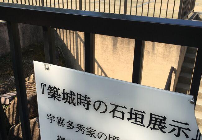 岡山城 石垣
