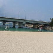 那覇市内にあるビーチ