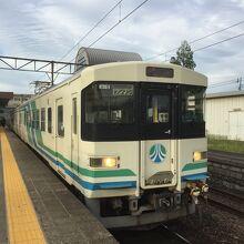 阿武隈急行の電車