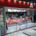 551HORAI蓬莱レストラン名物の海鮮餡かけ麺料理とハーフサイズの飯物セット