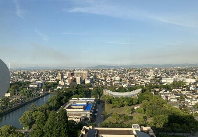 佐賀県庁 展望ホール