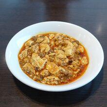 ランチ(セットのミニ麻婆豆腐)