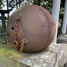 悲鳴嶼行冥さんの鉄球ぽい。