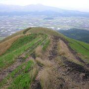 阿蘇五岳を眺望