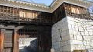 松山城 筒井門東続櫓