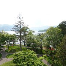 中禅寺湖ビュー