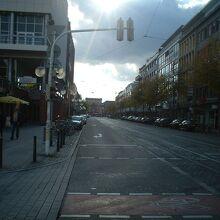 マンハイムの街並み