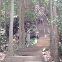 日本一石段御坂遊歩道