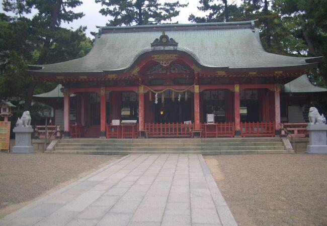 201年創建の歴史ある神社