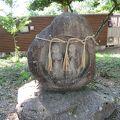 安曇野の道祖神は可愛らしい姿です