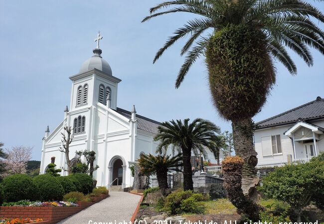 坂の上の教会